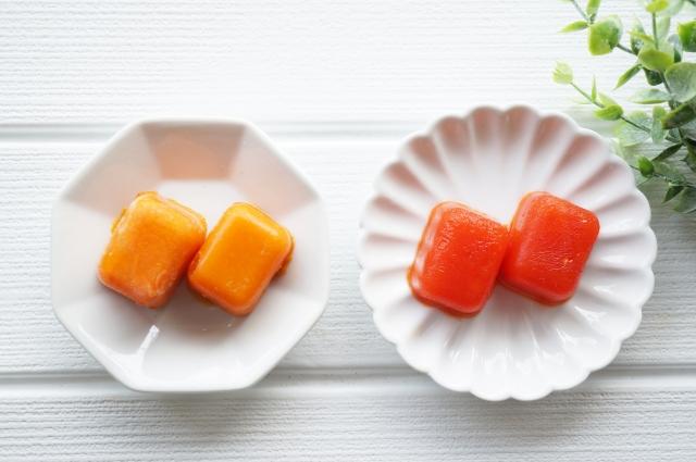 凍らせたトマト