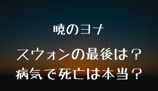 【暁のヨナ】のスウォンは最後どうなる?病気で死亡は本当?