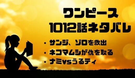ワンピース1012話のネタバレ考察と感想まとめ!ついにナミがうるティに宣戦布告!!
